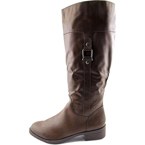 - Style & Co. Womens Astarie Closed Toe Knee High Riding Boots, Brown, Size 7.0