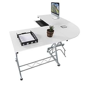 Harima mesa esquinera para ordenador mueble torre for Mesa esquinera cocina sodimac