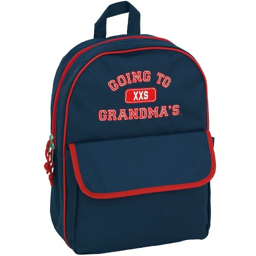 Mercury Going to Grandma's Backpack, Childrens Luggage, Small, Navy Blue