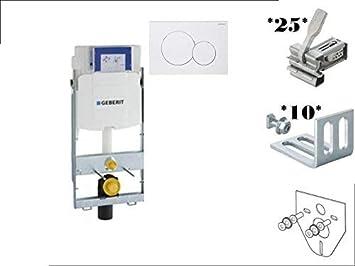 Geberit GIS WC Element mit UP 320 + GIS Montage Zubehör SET: Amazon ...