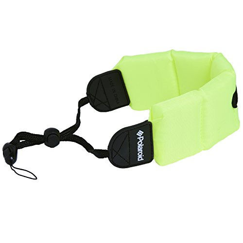Polaroid Floating Flotation Wrist Strap (Green) for Underwater/Waterproof Cameras, Camcorders and Housings