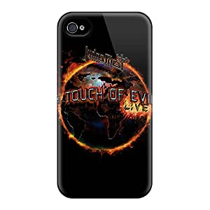 New Judas Priest Tpu Skin Case Compatible With Iphone 4/4s