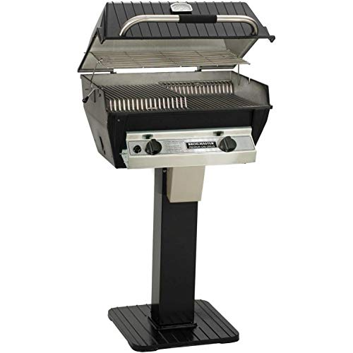 Broilmaster R3bn Infrared Combination Natural Gas Grill On Black Patio ()