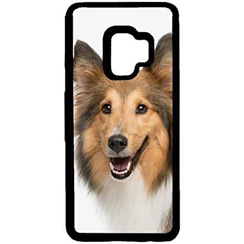 (Samsung Galaxy S9 Slim Case,Galaxy S9 Sheltie Paw Prints Case,Sheltie Paw Prints Samsung Galaxy S9 TPU Gel Case Shetland Sheepdog Ultra Slim TPU Gel Case for Samsung Galaxy S9)