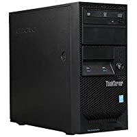 Newest Lenovo ThinkServer TS140 Flagship Tower Server Desktop Computer, Intel Dual Core i3-4150 3.50 GHz, 8GB RAM, DVDRW, USB 3.0, Display Port, No Hard Drive, No Operating System (Black)