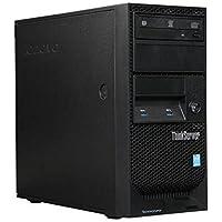 Newest Lenovo ThinkServer TS140 Flagship Tower Server Desktop Computer, Intel Dual Core i3-4150 3.50 GHz, 8GB RAM, DVDRW, USB 3.0, Display Port, No Hard Drive, No Operating System (Black)