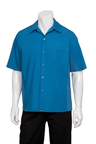 Chef Works Men's Universal Server/Cook Shirt (CSMV) by Chef Works Men's Uniforms