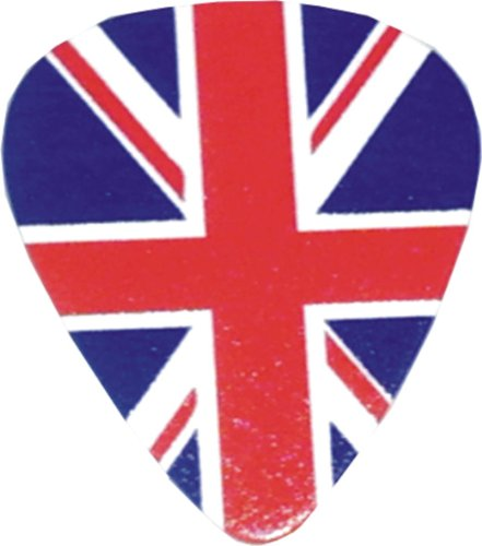 British Guitar (British Flag Union Jack logo Guitar Pick)