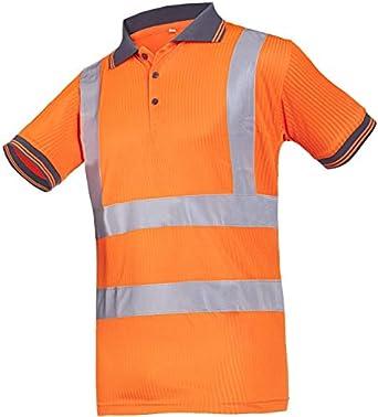 SIOEN 3879A2MV1FC1S Molina Hi-Vis Polo-Shirt Orange Small