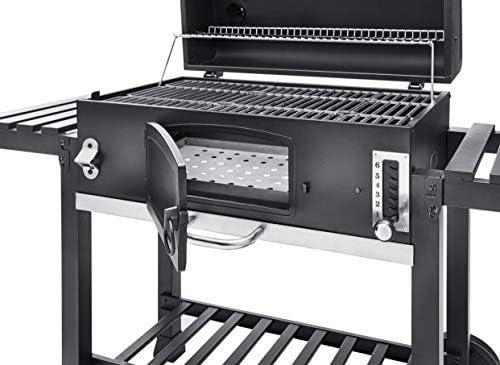CosmoGrill Outdoor XXL Barbecue à charbon de bois portable pour jardin