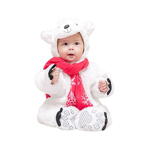 Grinch Halloween Costume Ideas (Boomtrader Unisex Cute Baby Puppy Costume Baby Furry Bear Costume Warm Costume Baby)
