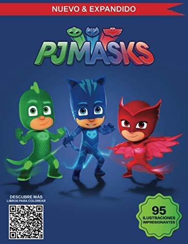 PJ Masks Libro para Colorear: Grandes Páginas para Colorear ...