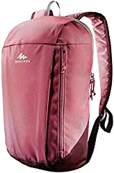 Quechua NH100, 10 Liters Navy Blue Multipurpose Backpack (Pink)