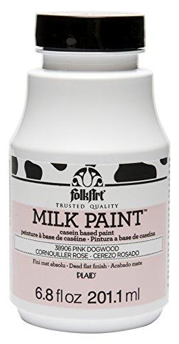 Opaque Milk - FolkArt Milk Paint in Assorted Colors (6.8 oz), 38906 Pink Dogwood