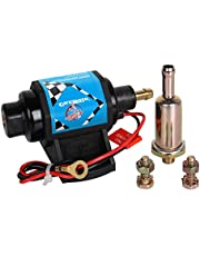 Big-Autoparts 12 Volts Universal Electric Fuel Pump Low Pressure for for Carburetor Engine