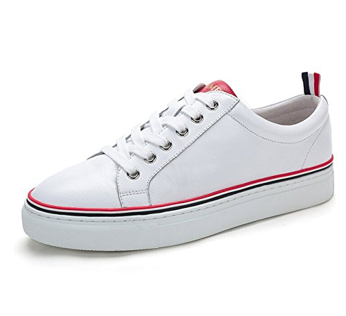 Camel Mens Classic & Modern Low-Tops Sneaker Color White/Red Size 43 M EU OOBI7JZ7N