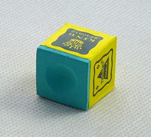 Isali New 1pcs Green Chalk Pool Snooker Table Cue tip Billiard Stick 90