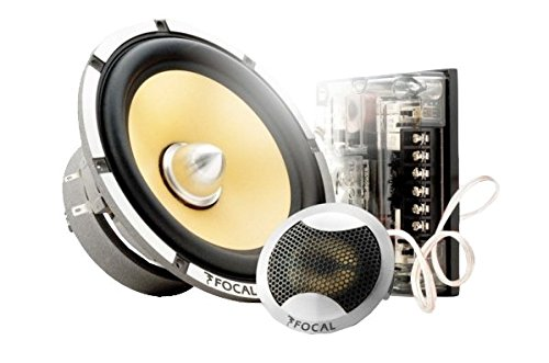 Focal K2 Power 165 KRX2 6.5-Inch High Power 2-Way Component Speaker Kit