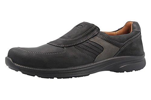 Jomos - Homens Chinelo Sapatos Pretos Em Mais Tamanhos