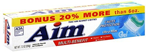 Aim Cavity Protection Ant Cavity Fluoride Toothpaste, Ultra...