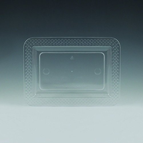 Clear Plastic Concord Snack Trays 40ct (Bowls Concord Glass)