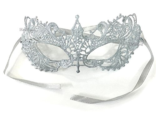 The Incredibles Costume Designer (Fifty Shades Darker Anastasia Steele Sexy Lace Masquerade Eye Mask (Silver))