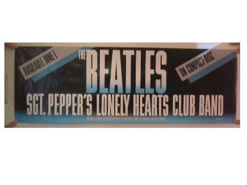 The Beatles Poster Sgt. Pepper's Lonely Hearts Club Band