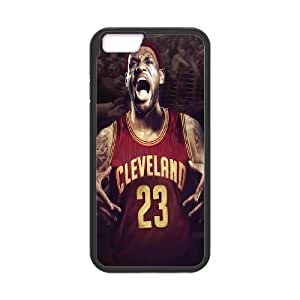 Cleveland Cavaliers Lebron James Pattern Productive Back Phone Case For Apple Iphone 6 Plus 5.5 inch screen Cases -Style-10