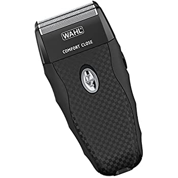 Wahl FlexShave Rechargeable dual foil shaver with 3 replacement foils for shaving, balding, shave, grooming, and razor with full width popup trimmer 7367-300