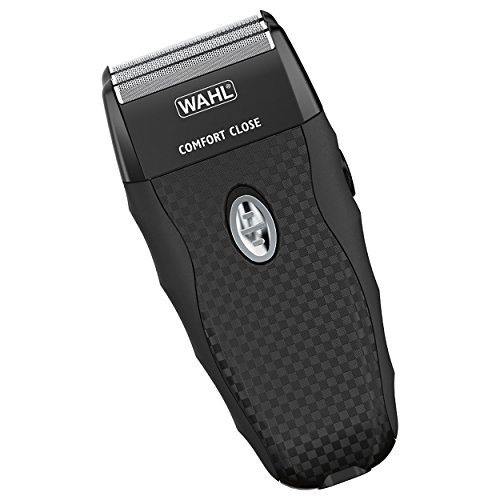 Wahl FlexShave Rechargeable dual foil shaver with 3 replacement foils for shaving, balding, shave, grooming, and razor with full width popup trimmer 7367-300 ()