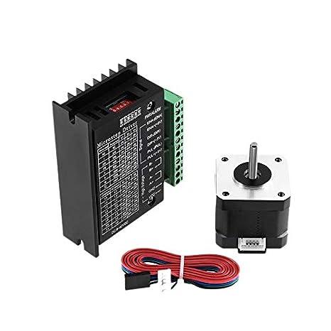 TOOGOO Impresora 3D 4-Lead Nema17 Stepper Motor 42 Motor 1.5A ...