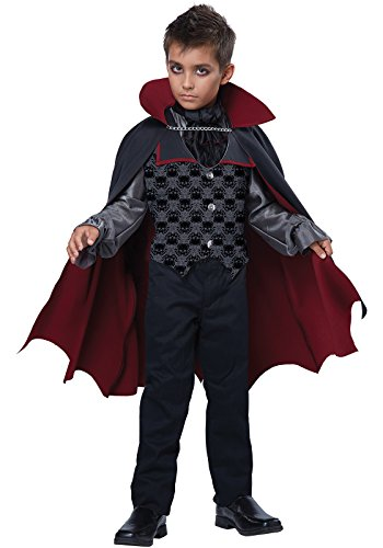 Vampire Costumes For Boys (California Costumes Count Blood Fiend/Child Costume, One Color, Medium)