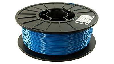 3D Fuel Pro PLA High Heat Professional 3D Filament Made in USA (Ocean Blue, 1.75mm 1Kg)