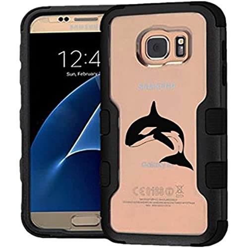 Galaxy S7 Case Wale, Extra Shock-Absorb Clear back panel + Engineered TPU bumper 3 layer protection for Samsung Sales