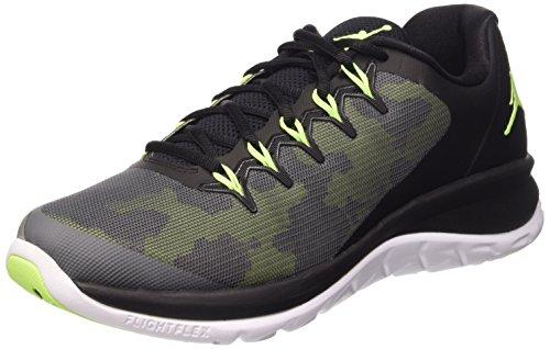 Nike Herren Jordan Flight Runner 2 Laufschuhe mehrfarbig (Black/Ghost Green- Drk Grey