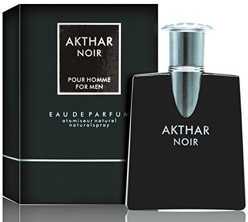 Akthar Noir Eau De Toilette Spray For Men, 2.5 Ounce 75 Ml - Scent Similar to Drakkar Noir Guy Laroche (Guy Paris Laroche)