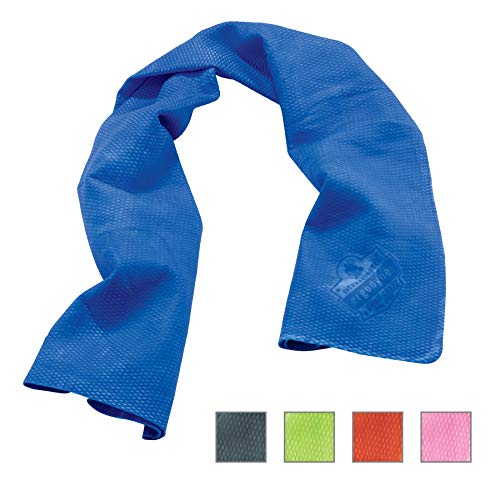 Ergodyne Chill-Its 6602 Evaporative Cooling Towel, Blue (Best Clothes For Humid Weather)