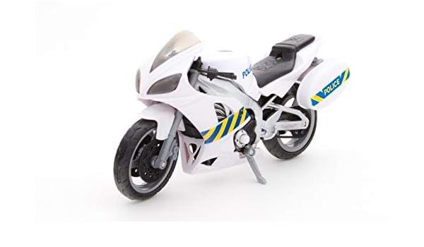 TOYLAND Servicio de Emergencia Moto de la policía con Sonido de ...