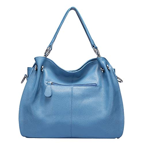 Grande Dhrfyktu Orange Style À Élégant Casual Cuir Messenger Minimaliste En Bandoulière Light Blue Capacité Sac color wxrwvU5O