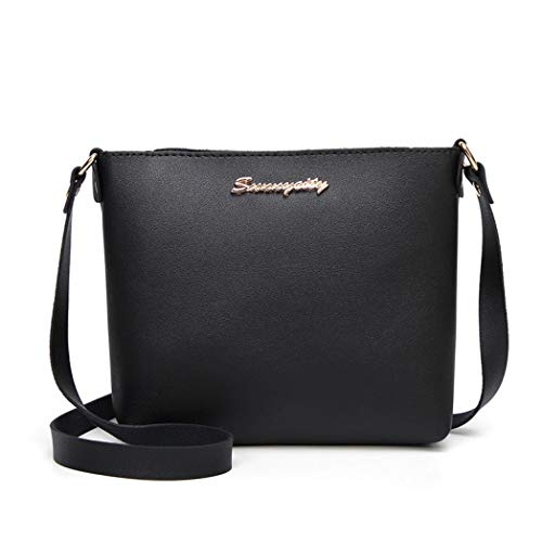 Shoulder Fashion Bag Womens Black Crossbody Zipper Bags Messenger Bafaretk Cross Logo BLACK Bag T1ZrqOFKZ