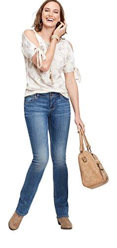 maurices Women's Denimflex TM Medium Wash Slim Boot Jean 16 Medium Sandblast from maurices