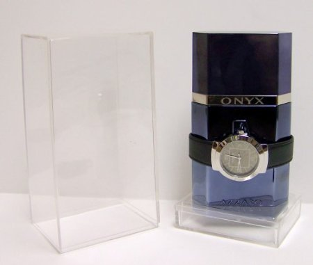 Azzaro Onyx Prestige Edition Eau de Toilette + Onyx Azzaro Leather Band Wrist Watch!