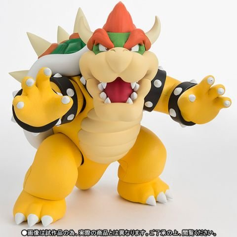 Bandai Tamashii Nations S.H. Figuarts Super Mario Bowser Action Figure