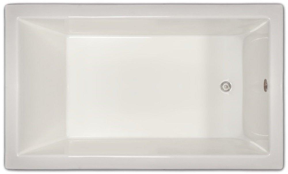 Signature Bath LPI18-S Drop-in Soaking Bathtub, White - - Amazon.com