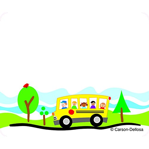 CARSON DELLOSA SCHOOL BUS NAME TAGS (Set of 24) by Carson Dellosa