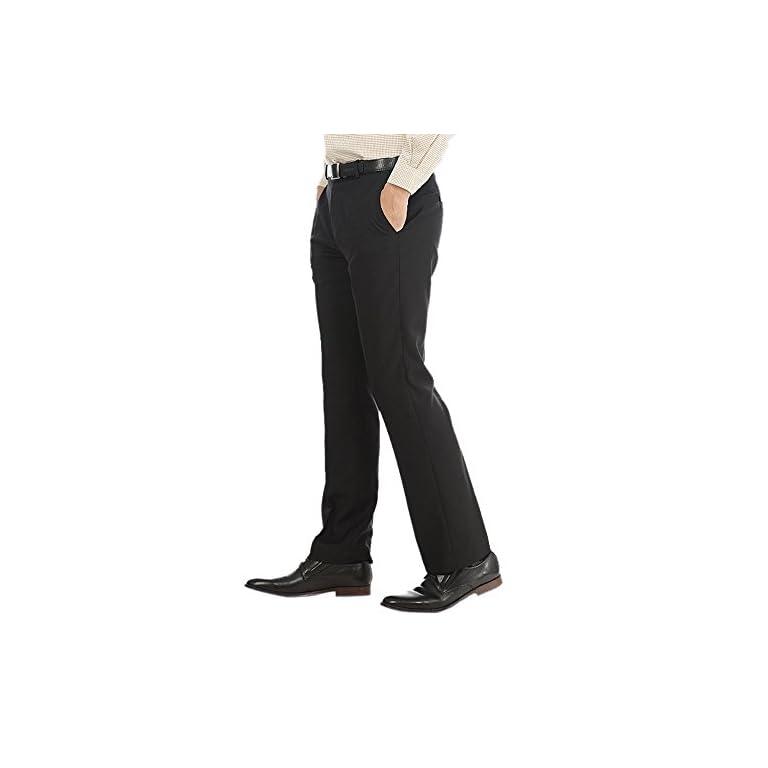 41Mlz1VcMGL. SS768  - AD & AV Men's Regular Fit Formal Trousers