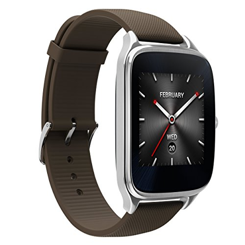 ASUS ZenWatch 2 WI501Q-SR-BW-Q 1.63-inch AMOLED Smart Watch with Quick Charge – BROWN