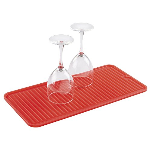 mDesign Kitchen Countertop Silicone Drying product image