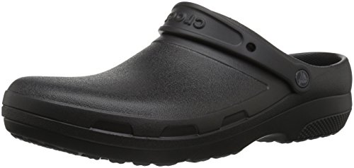Crocs unisex-adult Specialist II Clog, Black, 10 US Men / 12 US Women