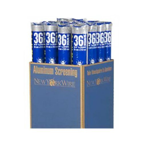 Aluminum Screen Cloth Ready Rolls by New York -